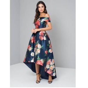 Chi Chi Of London Kerris Bardot High Low Dress